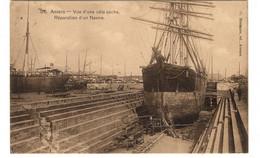 BELGIQUE - ANVERS Vue D'une Pâle Sèche, Réparation D'un Navire - Antwerpen