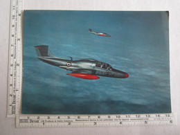 Aviation > Avions Avion MS760 Paris Avion De Liaison Et D'entrainement Militaire - 1946-....: Moderne