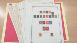 Lot N° TH 104  ALLEMAGNE Neufs X Ou Obl. Sur Page D'albums - Sammlungen (im Alben)