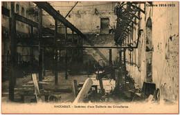 54 - BACCARAT - Intérieur D'une Taillerie De Cristallerie - Baccarat