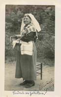 87 SAINT YRIEIX LA PERCHE   Paysanne Vendant Ses Galettes CARTE PHOTO Havard - Saint Yrieix La Perche