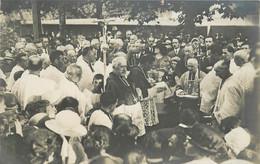 PAU - Pose De L'église De La 1er Pierre De L'Eglise Notre Dame, Carte Photo Le 24 Juillet 1921. - Pau