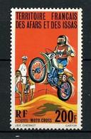 AFARS Et ISSAS 1976  N° 440 ** Neuf MNH Superbe Moto Motorcycle Transports - Nuevos