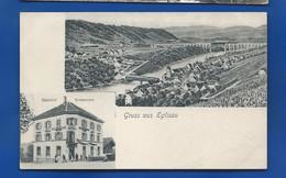 Gruss Aus EGLISAU    Bahnhof Restaurant      Animées    écrite En 1907 - ZH Zurich