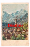 096 Zeno Diemer Zieher Meran Merano Künstlerkarte Rarität - Diemer, Zeno