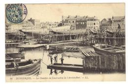 86 - DUNKERQUE - Les Chantiers De Construction De L'arrière Port - Dunkerque