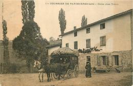 42 - COURRIER DE PANISSIERES - HALTE CHEZ TRICOT - Other Municipalities