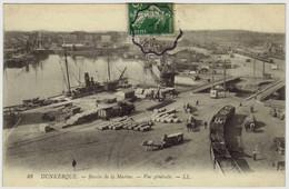 88 - DUNKERQUE - Bassin De La Marine - Vue Générale - Dunkerque