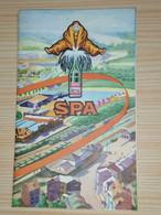 SPA MONOPOLE / Dépliant Publicitaire Didactique  De 1958 - Advertising
