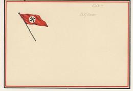 April 20, 1938 - 49th Birthday Adolf Hitler - Commemorative Postmark On 12 + 38 Rpf On Propaganda Postacard (2 Images) - Patriotiques