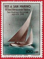 San Marino. 1956. Mi 557. 7th San Marino-Riccione Stamp Fair - Unused Stamps