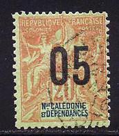 Nouvelle-Caledonie 1912 Yvert 106 (o) B Oblitere(s) - Usados