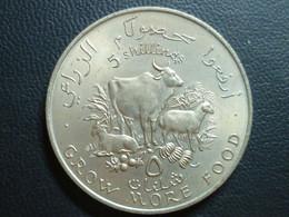 Somalia Democratic Republic - 5 Shillings 1970 - 2nd F.A.O. Conference - KM# 15 - Somalia