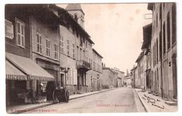 Thoissey - Rue Du Four - édit. B. Ferrand  + Verso - Andere Gemeenten