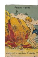 CPSM ROYAN 17  :  Carte Fantaisie à Système  Ecrite  1936 - Royan
