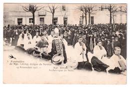 Funérailles De Mgr. Lelong évêque De Nevers - Mgr. Ardin Archevêque De Sens - édit. Louis Arveau 5 + Verso - Nevers