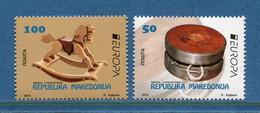 ⭐ Macédoine - Europa - YT N° 701 Et 702 ** - Neuf Sans Charnière - 2015 ⭐ - 2015