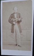 Le Violoniste Delphin Alard CDV De Moulin à Paris - Oud (voor 1900)