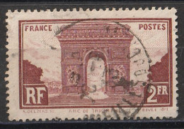 Timbre FRANCE De 1929  Y&T N° 258   Oblitéré - Gebruikt