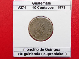 10 Centavos 1971 KM#271 - Guatemala