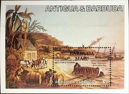 Barbuda 1984 Abolition Of Slavery Anniversary Minisheet MNH - Antigua Y Barbuda (1981-...)
