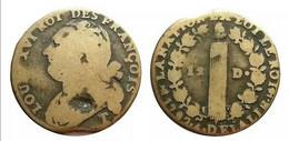 LOUIS XVI 12 Deniers 1792 T. Saumur - 1774-1791 Louis XVI