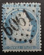 60A Planchage 120D3 Obl BUREAU SUPPLEMENTAIRE GC 6061 Tiercé (47 Maine & Loire ) Ind 10 - 1849-1876: Periodo Clásico