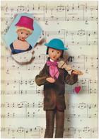 Gf. Les Poupées De PEYNET. Mon Coeur Chante Comme Un Violon. 23 - Peynet