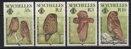 Seychelles (10) 1985 Birth Bicentenary Of John J. Audubon (ornithologist) Set. Mint. Hinged. - Seychellen (1976-...)