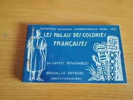 CARNET PARIS EXPOSITION COLONIALE 1931 24 CARTES - Mostre