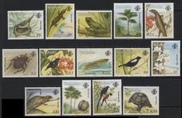 Seychelles (11) 1993 Flora And Fauna Set. Mint. Hinged. - Seychellen (1976-...)