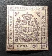 N° 9 1859 12c Lilas - Modena