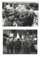 35 - VITRÉ - Lot De 2 Photos Anciennes - Fête, Kermesse - Phot. V. Gautier à Vitré - Unclassified