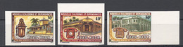 New Caledonia, 1983, Postal And Telegraph Service, MNH Imperforated, Michel 710-712 - Unclassified