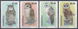 Simbabwe Zimbabwe 1999 Tiere Fauna Animals Vögel Birds Oiseaux Aves Uccelli Eulen Owls Kapuhu Ohreule, Mi. 639-2 ** - Zimbabwe (1980-...)