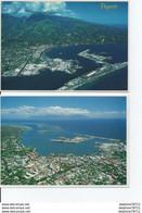 Vue Aérienne  De PAPEETE-2 CPAs - Tahiti