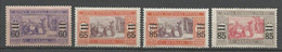 SENEGAL SERIE 4 VAL N° 87 à 90 NEUF*  CHARNIERE / MH / - Unused Stamps