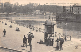 BAYONNE - Jonction De La Nive Et De L'Adour - Bayonne