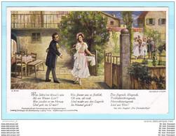 DEUTSCHLAND 19.. ? AK Postcard ** Mit Text - Das Dreimäderlhaus - Singspiel - Schubert (2 Scan)(6063AK) - Música Y Músicos