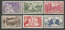 SENEGAL Serie 7 Val N° 138 à 143 NEUF* Avec Ou Trace De CHARNIERE / MH / - Unused Stamps