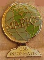 MAPICS - MONDE - WORLD - CSB INFORMATIK - MAPPEMONDE - MUNDO - MONDO - WELT - MONDU     -    (15) - Informatik