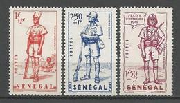 SENEGAL  N° 170 à 172 NEUF*  TRACE DE CHARNIERE / MH / - Unused Stamps
