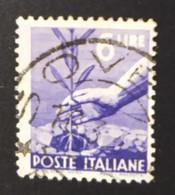 1945 - ITALIA  REPUBBLICA  -  DEMOCRATICA  -  VALORE LIRE 6  - USATO - Unclassified