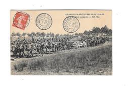 CPA  Militaria Grandes Manoeuvres D'automne 1909 - Manoeuvres