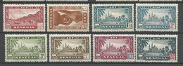SENEGAL N° 179 à 186 NEUF* Avec Ou Trace De  CHARNIERE / MH / - Unused Stamps