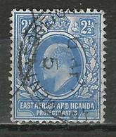 Brit. East Africa & Uganda SG 21, Mi 20b O - Protettorati De Africa Orientale E Uganda