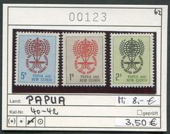 Papua Neuguinea - Papua New Guinea - Michel 40-42 - ** Mnh Neuf Postfris - - Papua Nuova Guinea