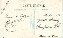 Carte Postale Du Hostellerie Du Dauphin, Vannes, Avec Cachet De L'Hopital Depot De Convalescents - Vannes