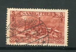 SARRE- Y&T N°118- Oblitéré - Used Stamps