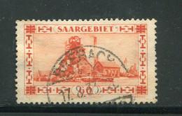 SARRE- Y&T N°140- Oblitéré - Used Stamps